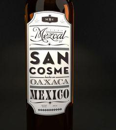 San Cosme wine label