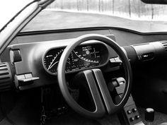 Car Interiors: 1976 Bertone's concept for Alfa Romeo