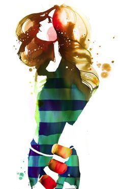 Stina Persson for Target Style #watercolors