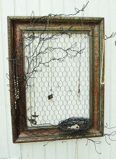 Sassytrash: Salvage, repurposing and wire projects