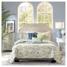 Helena 6 Piece Quilted Coverlet Set