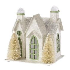 Home Decorators Collection 6.5 in. 1-Story Winter Cottage-9293400410 - The Home Depot