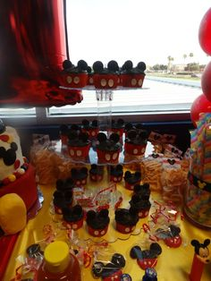 Mickey Mouse Birthday Party Ideas | Photo 24 of 28 | Catch My Party