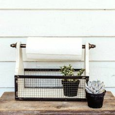 Country Cottage Paper Towel Holder