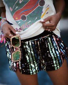 "JULIE SARIÑANA (@sincerelyjules) on Instagram: ""Like a rainbow. ⚡️ @lpa shorts @revolve"""