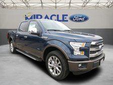 New 2015 Ford F-150 Lariat Blue Truck