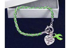 Lime Green Rope Bracelet - (B-02-9)