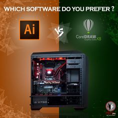 Adobe Illustrator vs CorelDraw: The two most popular vector-based illustration software used widely but which one do you prefer? #IllustratorVsCorelDraw