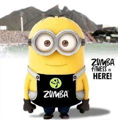 Zumba Minion.
