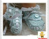 Handmade Crochet Baby Shoes Crocheting Baby Sandals Woven Shoes(LJ012)  ON SALES NOW!!
