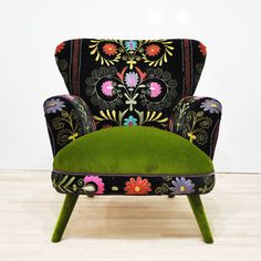 Sessel Suzani Grün, 1.450€, jetzt auf Fab.