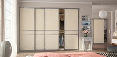 Sliding door wardrobes, fitted mirrored solutions London