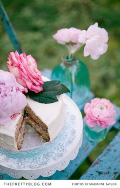 Pink & Turquoise Tea Party - Decor Inspiration | {Styled Shoots} | The Pretty Blog