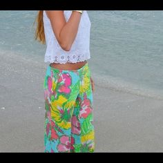 LARGE Lilly Pulitzer pant NWT The gorgeous Cambridge palazzo pant in Big Flirt by Lilly Pulitzer. NWT Lilly Pulitzer Pants