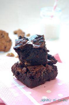 Brownie de cookies y nueces