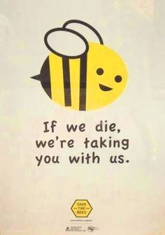 This cute Bee cartoon is prescient and true and a little macabre. I like it. - Democratic Underground