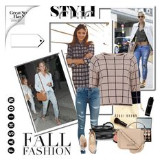 """""""checkered Shirt or ripped jeans"""" by meri-husic ❤ liked on Polyvore"""