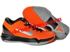 14c1b8dbc4003 Nike Zoom Kobe 7(VII) Elite Shoes Orange Black Gray Kobe Basketball