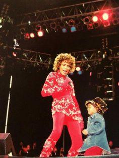 Bobbi Kristina Brown and Whitney Houston.