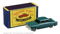 Matchbox Regular Wheels No.33A Ford Zodiac | Vectis Toy Auctions