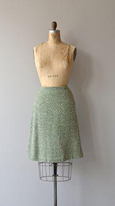 Vendredi skirt vintage 1950s skirt wool 50s skirt by DearGolden