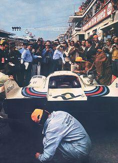 Helmut Marko / Gijs van Lennep, #22 Porsche 917K (Martini Racing Team), 24 Hours Le Mans 1971 (1st)