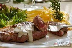 Receita de Filé ao molho de gorgonzola em receitas de carnes, veja essa e outras receitas aqui!
