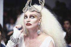 "Elke Maravilha no juri do ""Programa Silvio Santos"", do SBT - 23/03/1992"