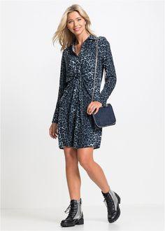 Dieses stylishe Kleid für modebewusste Fashionistas entzieht sich mit  Sicherheit keinem Blick. Das trendy Hemdblusenkleid 52244dc14b