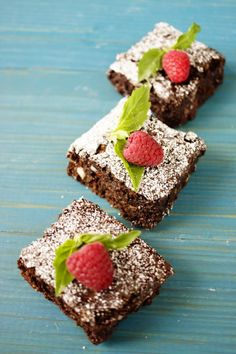 Chocolate and Zucchini Brownie