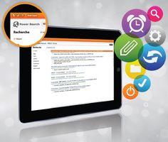 Divalto infinity, l'ERP édition complète, se dote d'un outil de recherche ultra-puissant, le PowerSearch