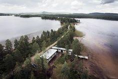 Summer lake house in Dalarna, Sweden.  Photography...