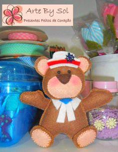 Ursinho Marinheiro - http://artebysol.blogspot.com.br/