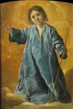 Francisco de Zurbarán The Infant Christ, 1635-40 Pushkin Museum, Moscow