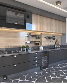34 What You Need to Do About Best Modern Kitchen Cabinets Ideas - homesuka Kitchen Room Design, Luxury Kitchen Design, Contemporary Kitchen Design, Best Kitchen Designs, Kitchen Cabinet Design, Home Decor Kitchen, Interior Design Kitchen, Home Kitchens, Contemporary Kitchen Furniture
