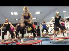 View the new hard core extreme advanced Urban Rebounding workouts! Gym Workout Tips, No Equipment Workout, Workout Videos, Fun Workouts, Urban Rebounder, Rebounder Workout, Mini Trampoline Workout, Love Handles, Rebounding
