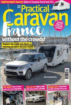In this issue:  France without the crowds! Explore the Gallic isle that's a touring paradise all year round  Lightweight luxury: Xplore's bargain fixed-bed 554  DIY project: how to boost your car's rear suspension  Tow car test: mighty Volvo V90 takes on Merc and BMW  Budget great Caravelair's family-friendly 476 on test