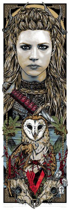 Fampart - Vikings - Lagertha - Rhys Cooper