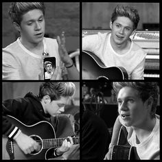 Niall on the set of Little Things!