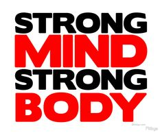 Strong Mind Strong Body Fitness & Bodybuilding Motivation Quote Retro Style Art Print by Fitbys - X-Small Bodybuilding Motivation Quotes, Gym Motivation Quotes, Gym Quote, Fitness Quotes, Health Motivation, Gym Slogans, Body Quotes, Work Success, Motivational Quotes For Working Out