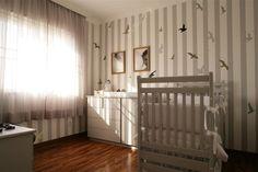 Quarto de bebê cinza , Gray baby room, nursery