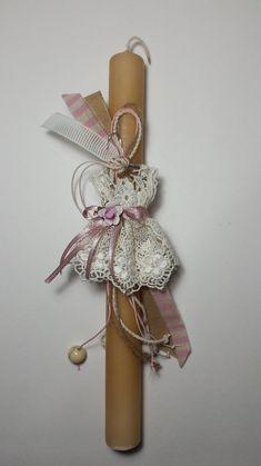 Αποτέλεσμα εικόνας για λαμπαδες με κουβαριστρες Candles, Homemade, Easter Ideas, Diy, Crafts, Palm, Projects, Diy Home Crafts, Manualidades