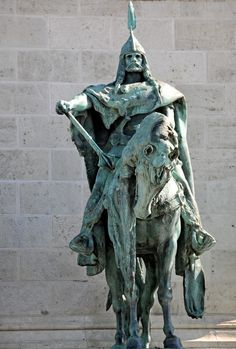 Attila the Hun (circa 406–453) - was the ruler of the Hunnic Empire. the power of his proud spirit appeared who in some way terrified all mankind. He was indeed a lover of war, during his reign, he was one of the most feared enemies of the Western and Eastern Roman Empires.