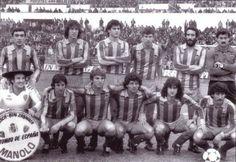 Valencia CF with Mario Kempes