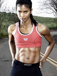 Motivation - I'd like to have abs like hers.