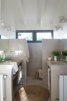 Plascon House Tour: A rustic chic abode - SA Decor & Design Dream Bathrooms, Amazing Bathrooms, Rural House, Suites, Rustic Interiors, Rustic Chic, Bathroom Inspiration, Bathroom Interior, New Homes