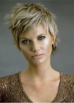 funky pixie cuts for thick hair - Google Search