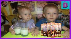 Пробуем ВОЛШЕБНЫЕ ТРУБОЧКИ для молока  Tasting Quick Milk candy unboxing