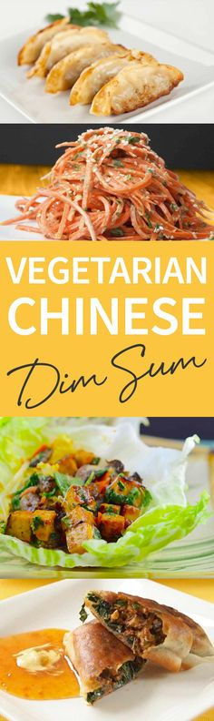 Dim Sum usually has a lot of meat and shellfish, but here are a few ideas to keep it vegetarian and kosher of course! Follow these Vegetarian Chinese Dim Sum recipes for your next meal! http://www.joyofkosher.com/2011/12/vegetarian-chinese-dim-sum/