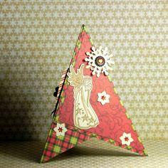 Prostorové vánoční přání   Pretty Papers - přáníčka, scrapbook, tvoření z papíru... Paper Crafts, Pretty, Tissue Paper Crafts, Paper Craft Work, Papercraft, Paper Art And Craft, Paper Crafting